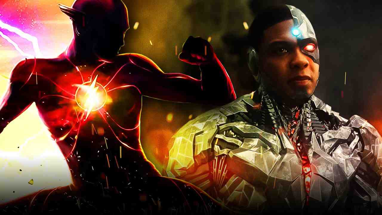 Flash Cyborg Ray Fisher
