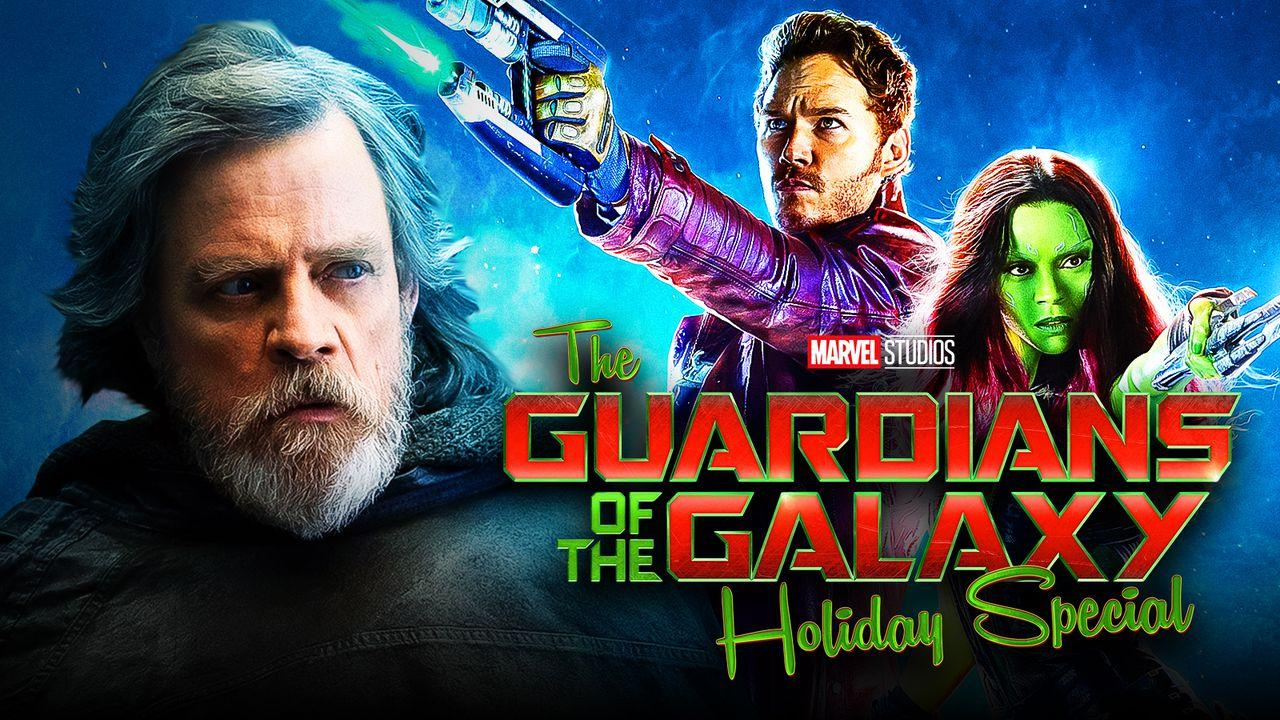 Mark Hamill Guardians of the Galaxy Holiday Special