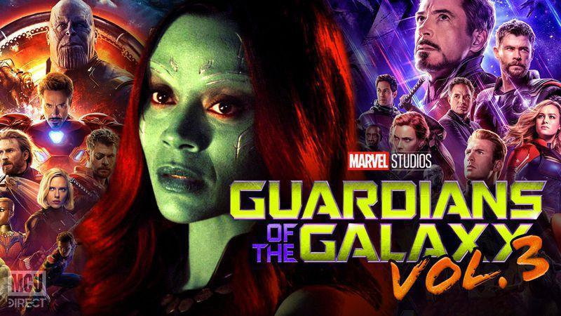 Guardians of the Galaxy Vol 3 was written knowing Avengers: Endgame's events