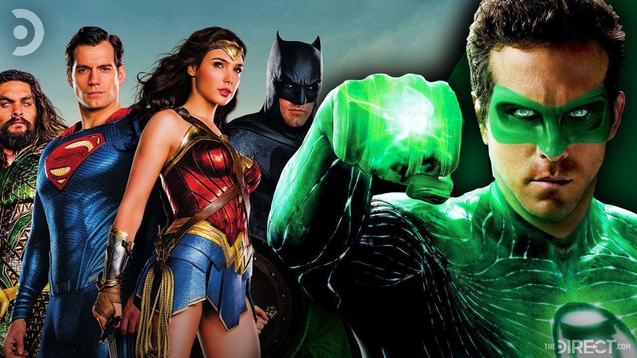 Ryan Reynolds as Green Lantern, Justice League
