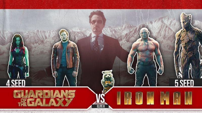 Guardians v Iron Man