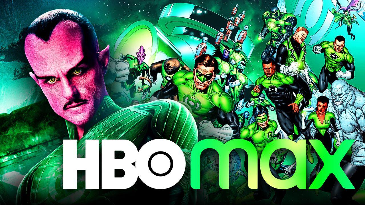 Green Lantern Corps, Sinestro, HBO Max logo
