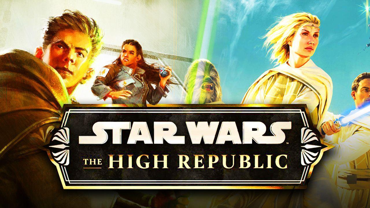 Star Wars The High Republic logo, Jedi Order
