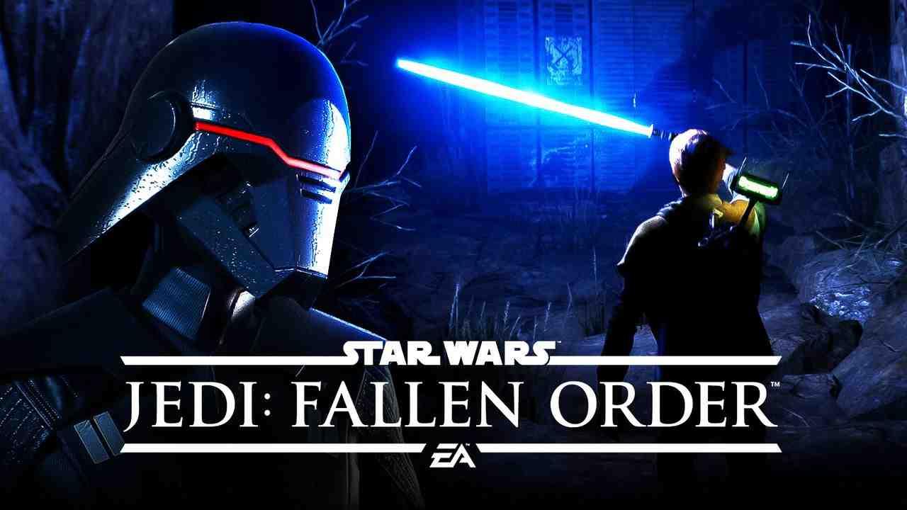 Star Wars Jedi Fallen Order Background Lightsaber