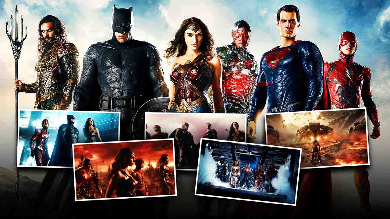 Justice League Scenes and Team