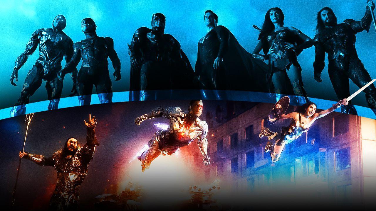 Justice League Slow Motion