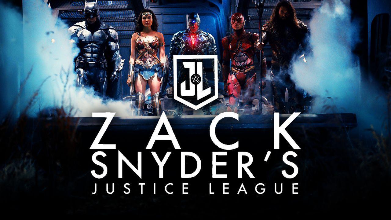 Zack Snyder's Justice League logo, Justice League