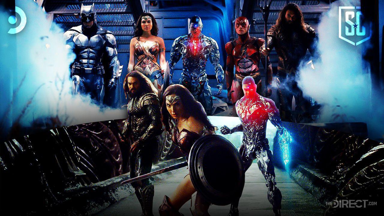 Batman, Cyborg, Wonder Woman, Flash