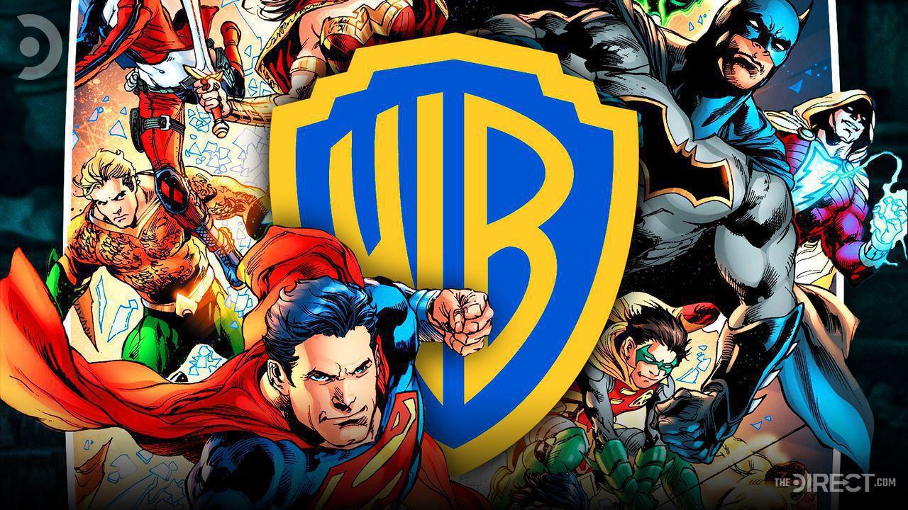 Comic versions of Aquaman, Superman, Warner Bros. Logo, Comic versions of Batman, Shazam and Robin