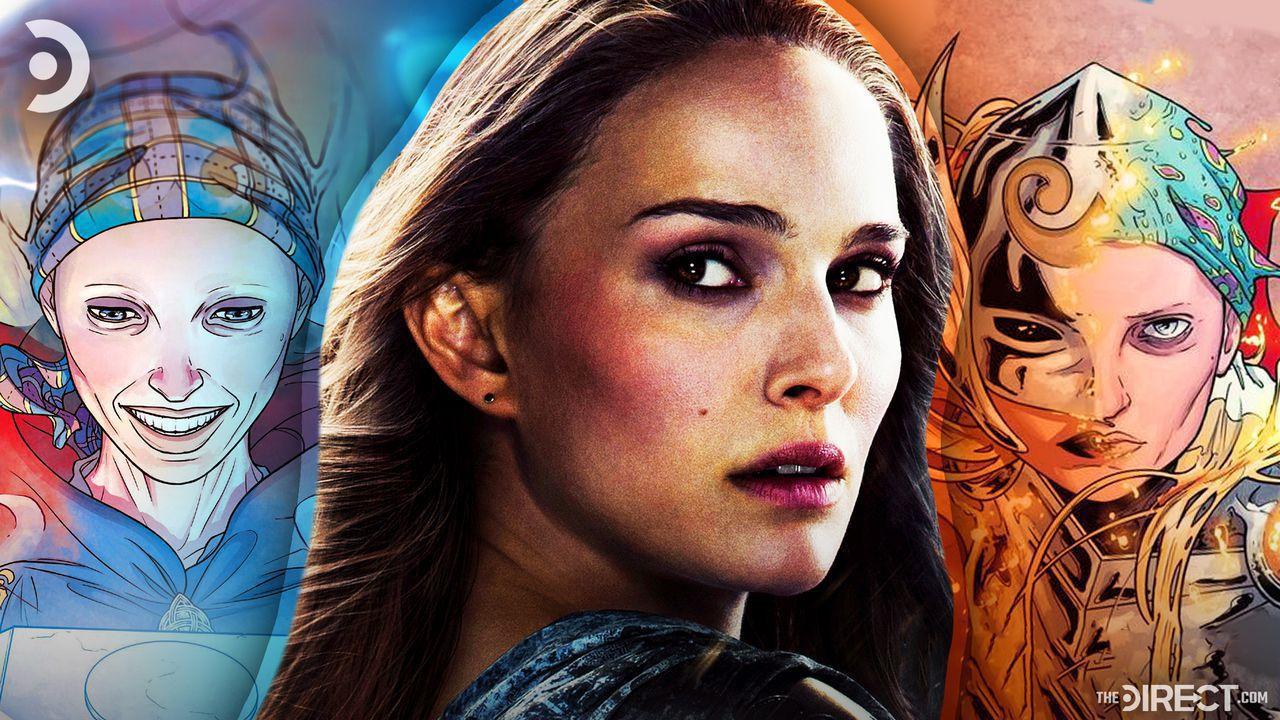 Jane Foster Holding Hammer from Comic, Jane Foster from Thor: The Dark World, Jane Foster from Comic