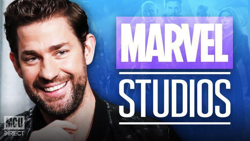 John Krasinksi met with Marvel Studios for a potential role