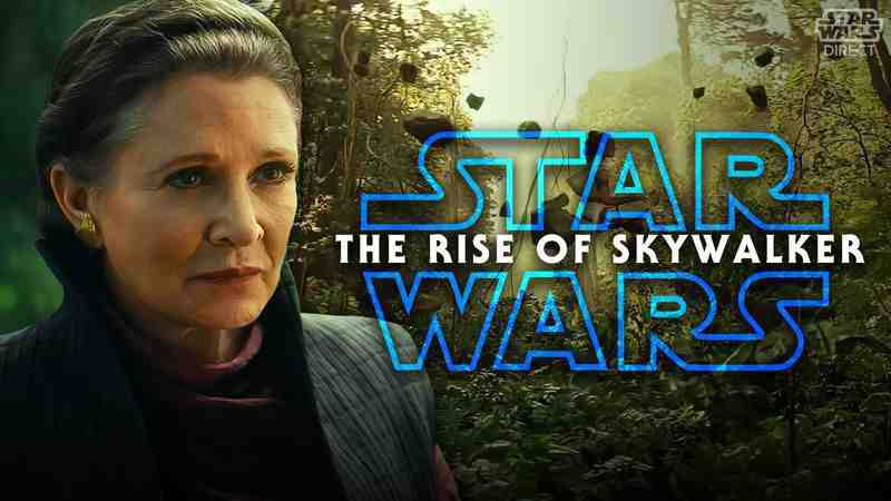 Rise of Skywalker Novel Excerpt about Rey learning from Leia and details of her training with Luke