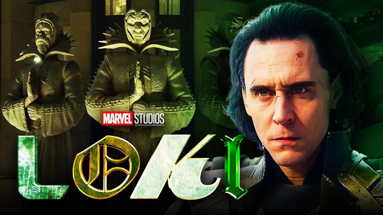 Tom Hiddleston Loki Show logo TVA