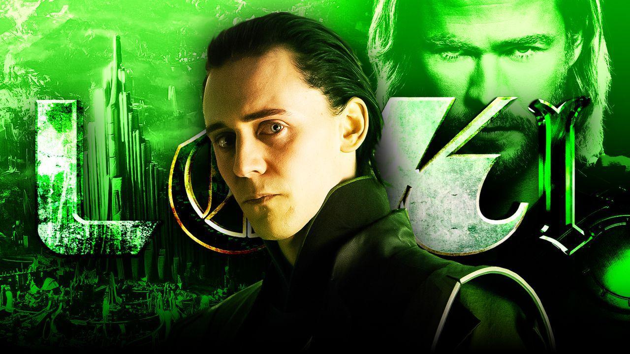 Loki Thor Loki logo