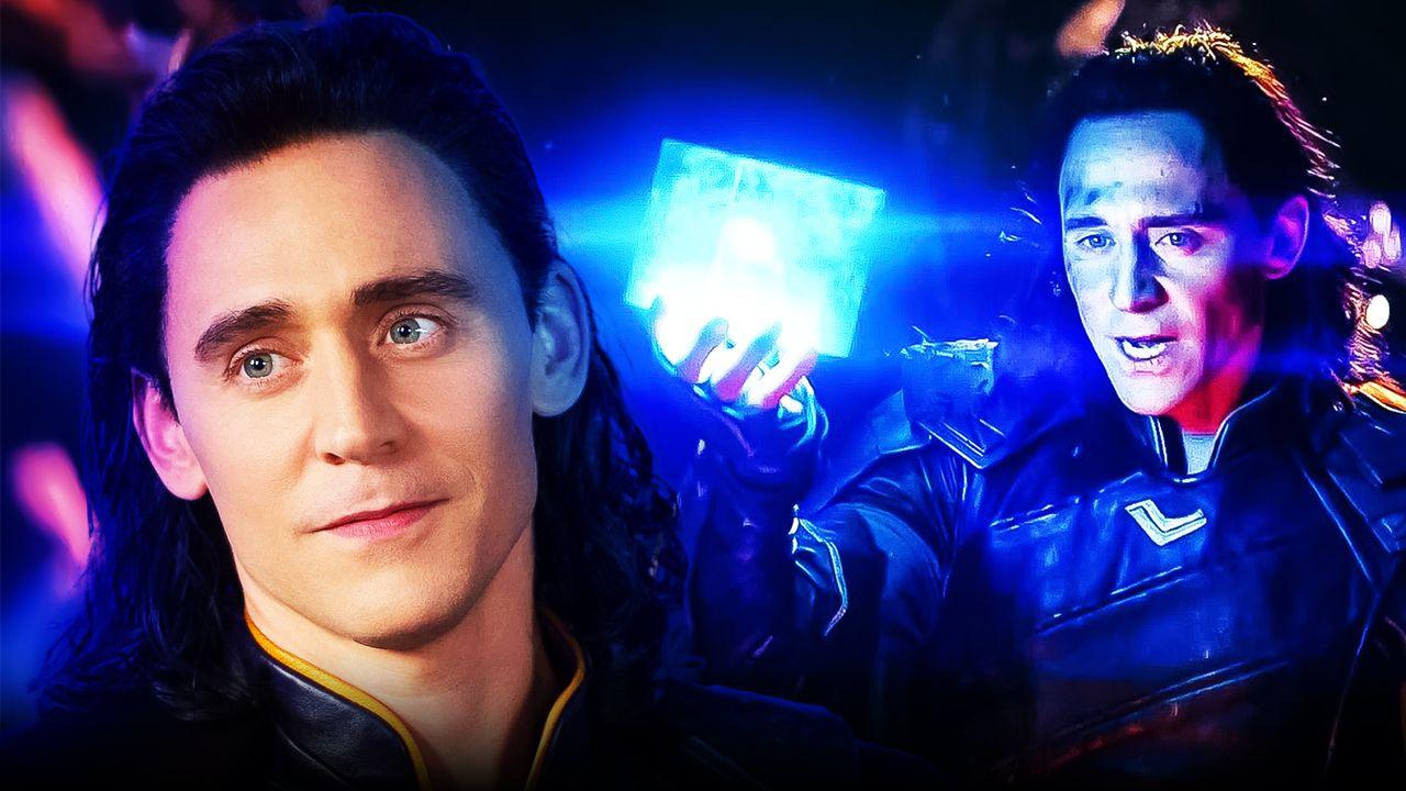 Tom Hiddleston as Loki, Tesseract