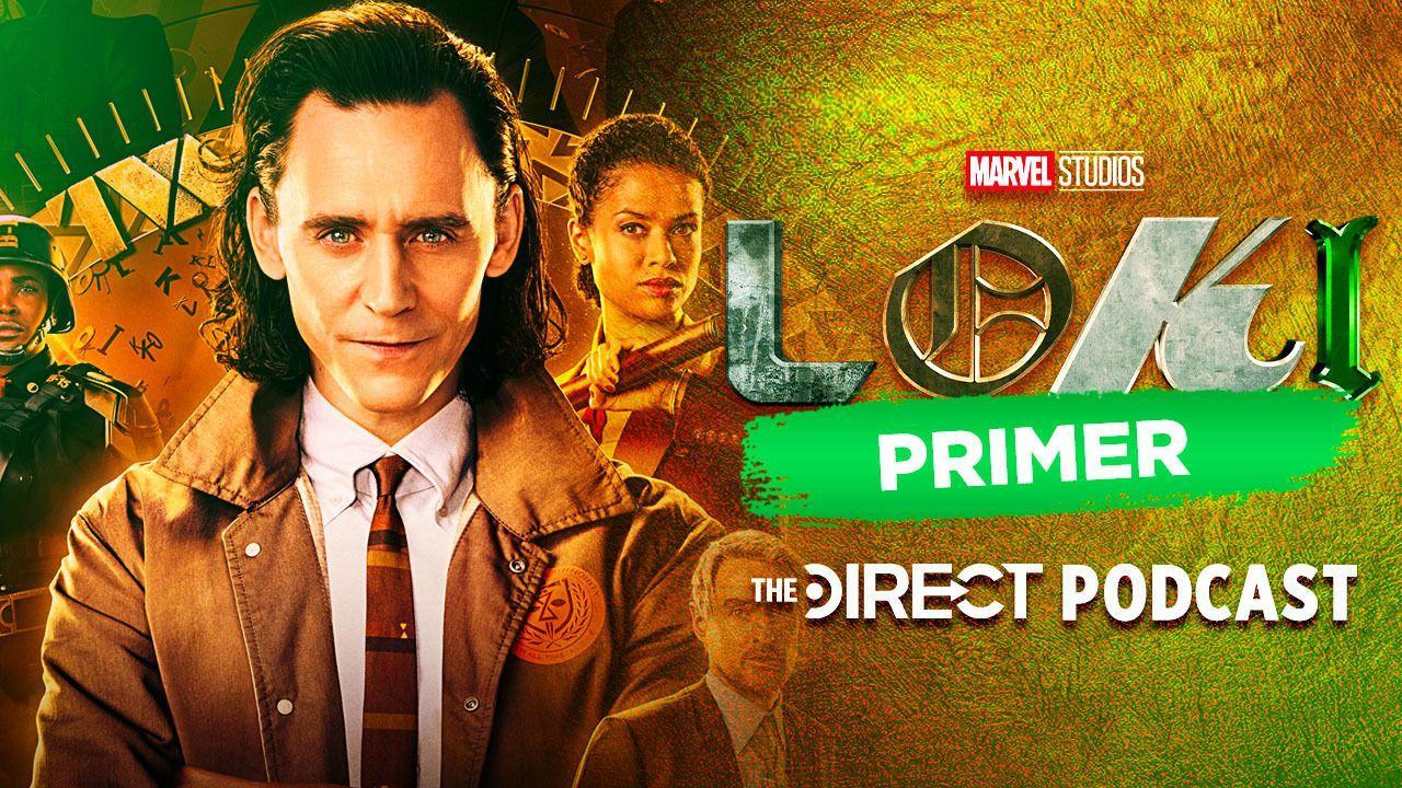 Loki, Loki series, Loki logo, The Direct Podcast, Tom Hiddleston