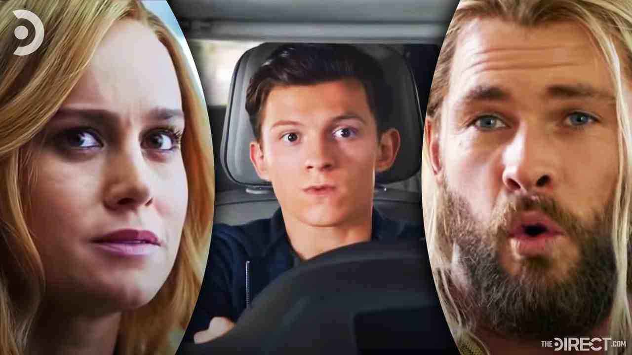 Carol Danvers, Peter Parker, Thor