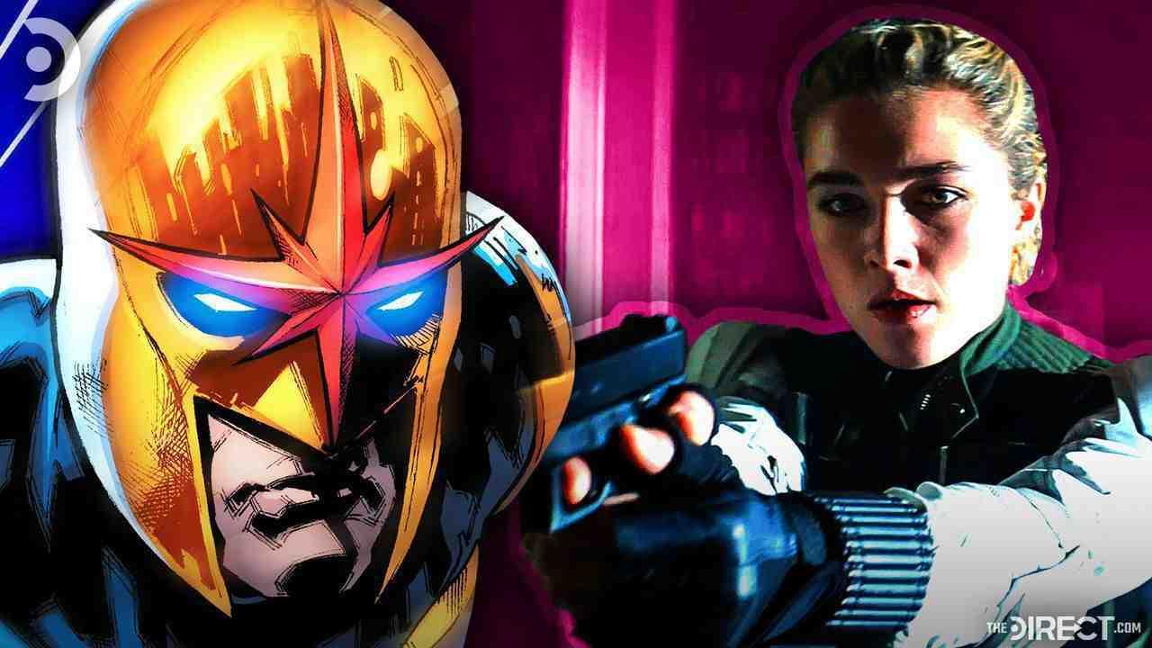 Nova from Comics and Yelena Belova from Black Widow