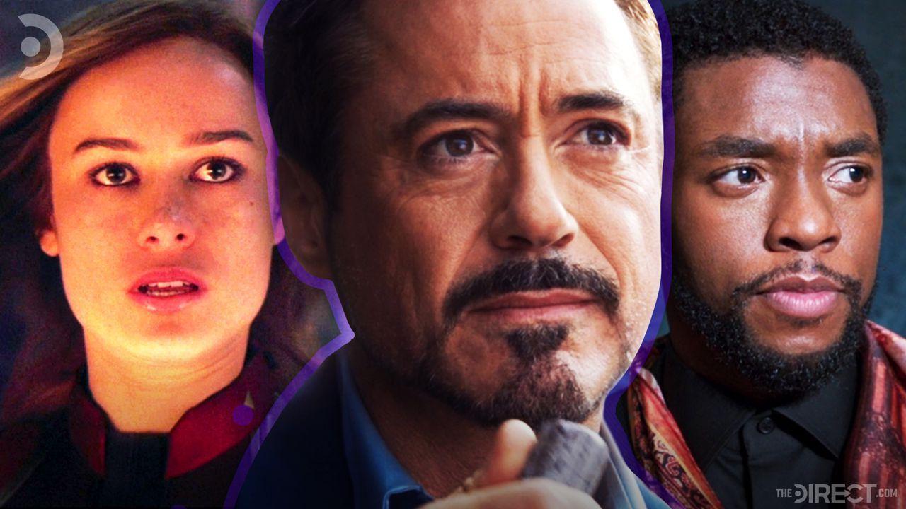 Carol Danvers, Tony Stark, T'Challa