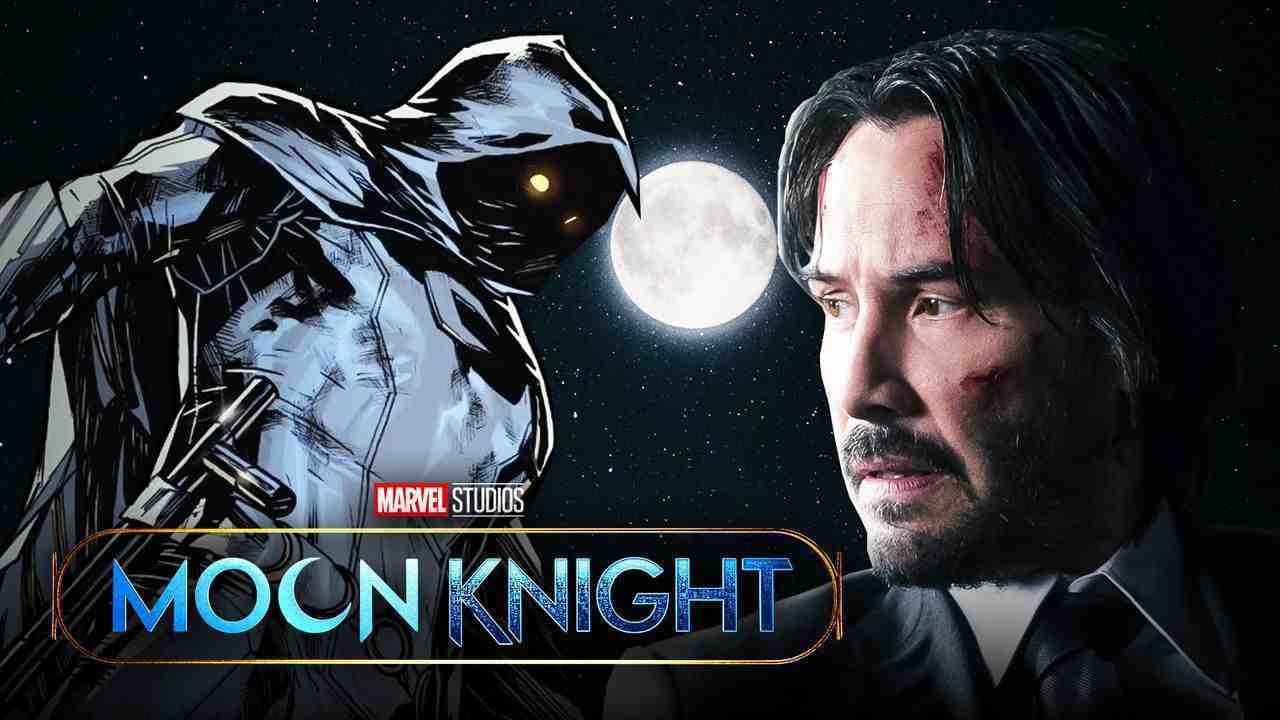 Moon Knight logo, Moon Knight Keanu Reeves