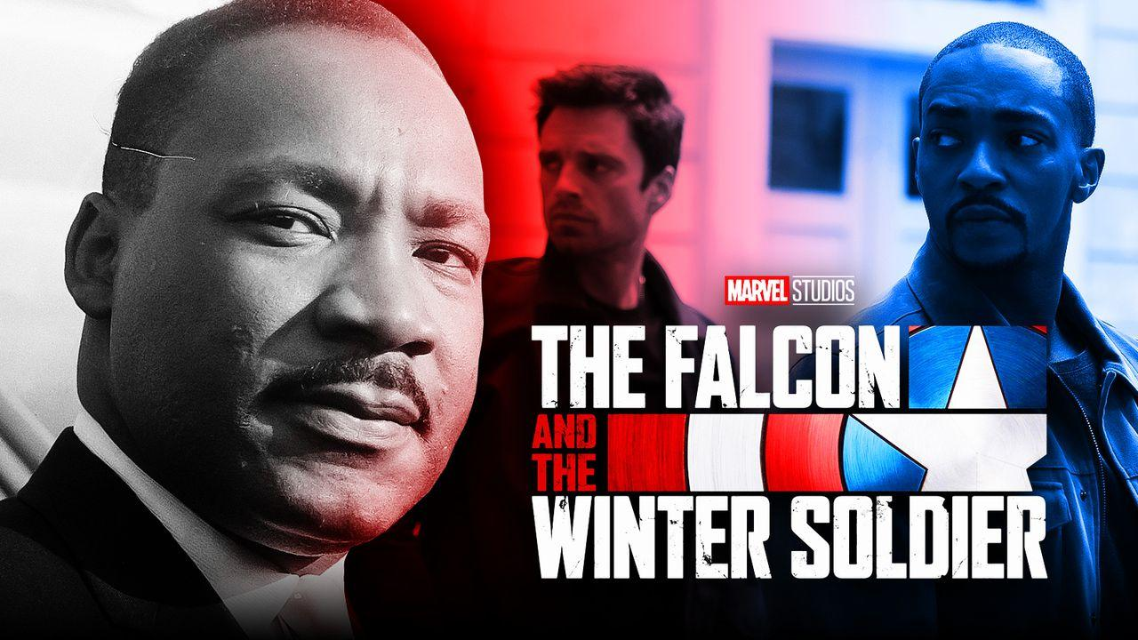 The Falcon and the Winter Soldier, Martin Luther King Jr.