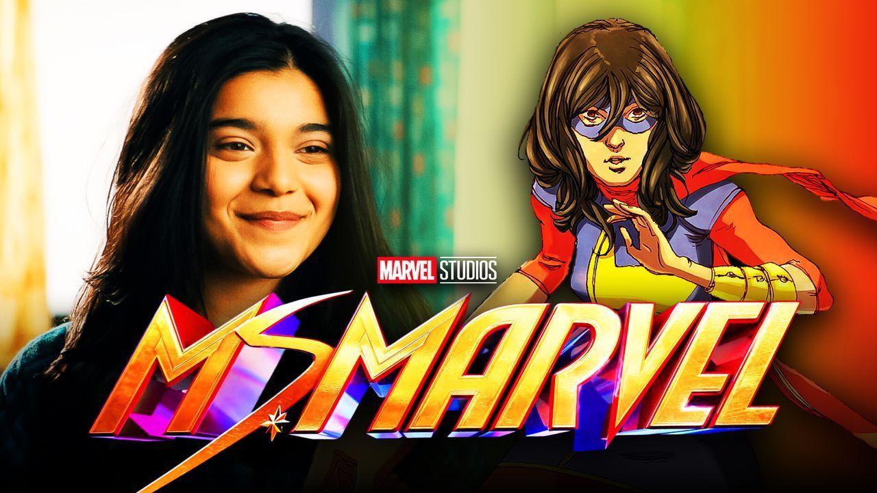 Ms. Marvel Logo, Kamala Khan, Iman Vellani