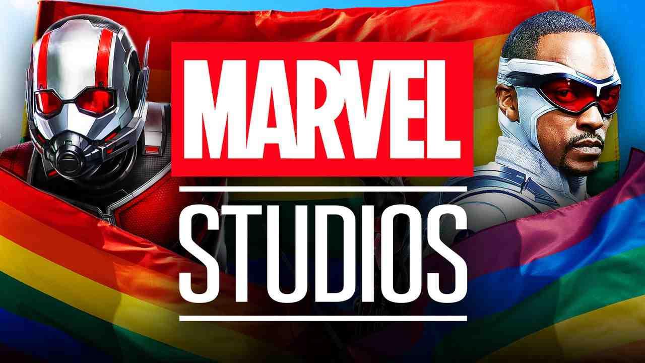 Marvel Studios LGBTQ Flag Ant-Man Captain America