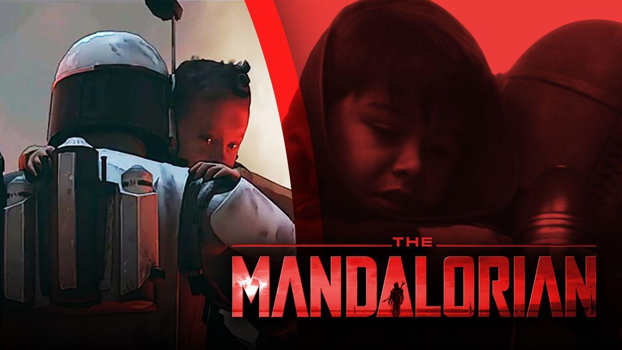 The Mandalorian Concept Art, The Mandalorian logo, Young Din Djarin from The Mandalorian