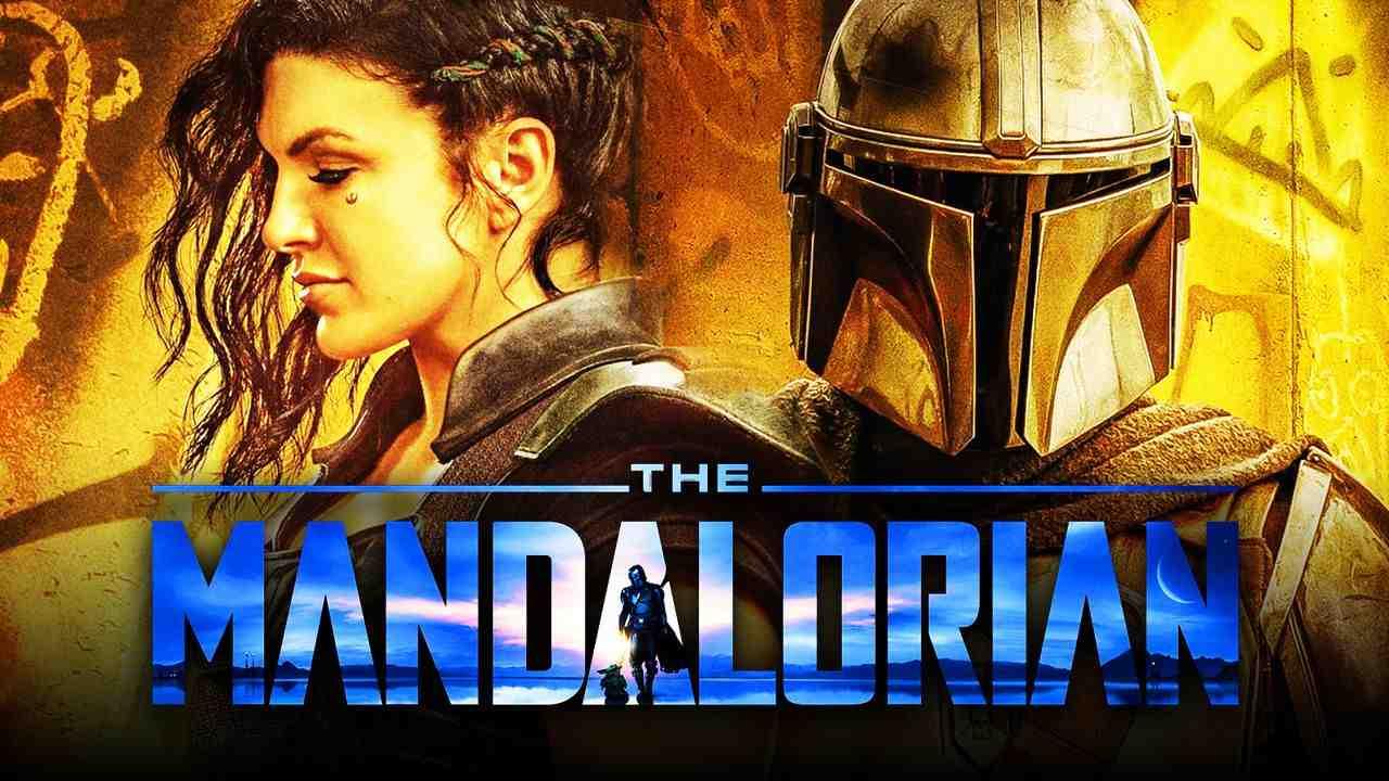 The Mandalorian logo, Din Djarin