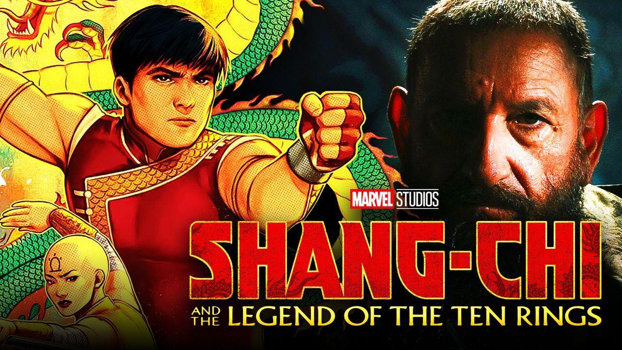 Shang-Chi logo, Shang-Chi, Mandarin