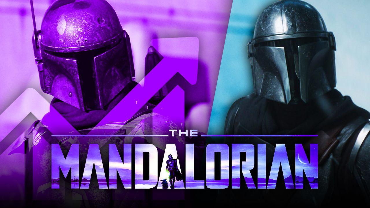 The Mandalorian logo, Boba Fett, Mando