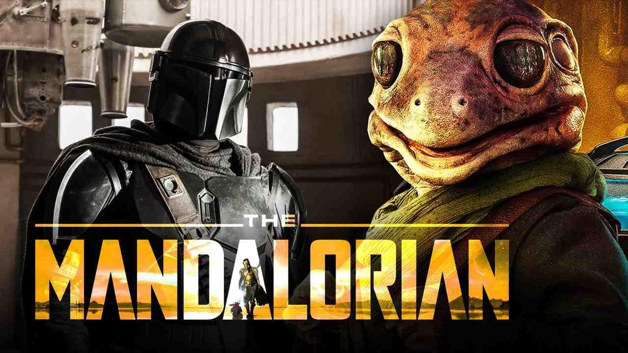 The Mandalorian logo, Frog Lady, Mando