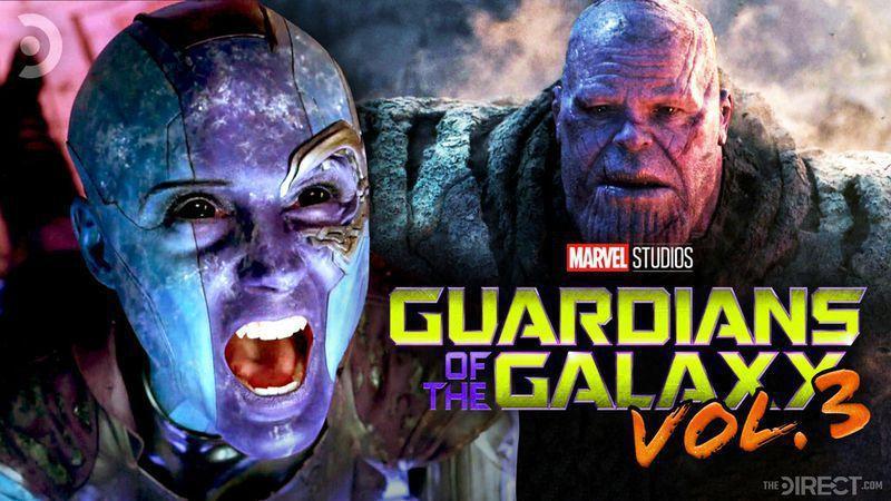 Nebula Thanos Guardians of the Galaxy 3