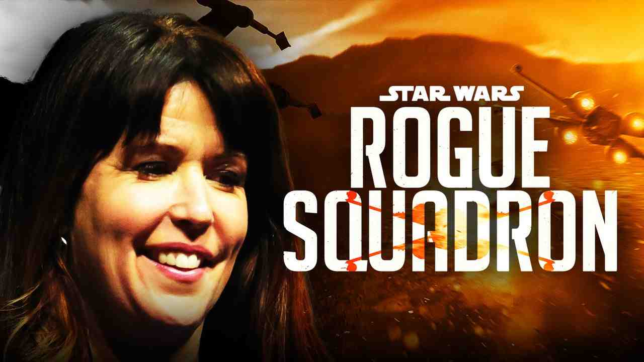 Patty Jenkins Star Wars Rogue Squadron Movie Logo