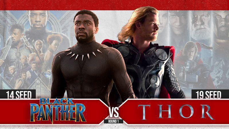 #14 Black Panther vs #19 Thor