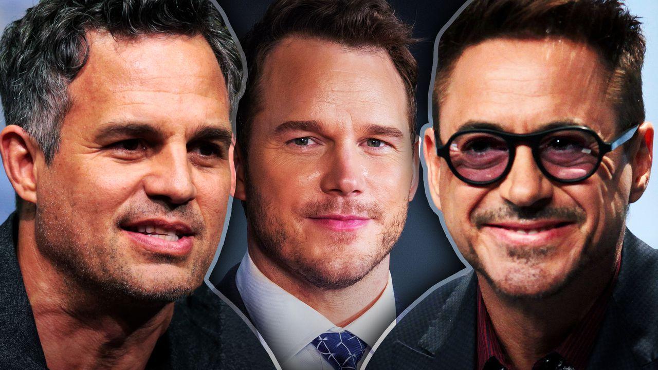 Mark Ruffalo, Chris Pratt, Robert Downey, Jr.