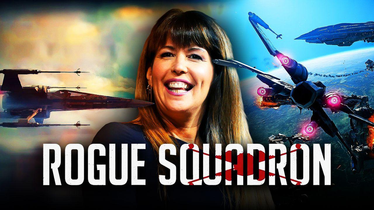 Patty Jenkins, Rogue Squadron logo