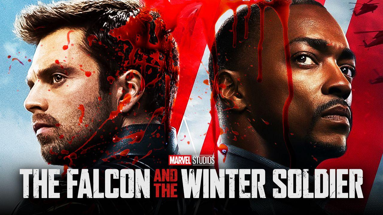 Sam Wilson, Bucky Barnes, The Falcon and the Winter Soldier, Blood