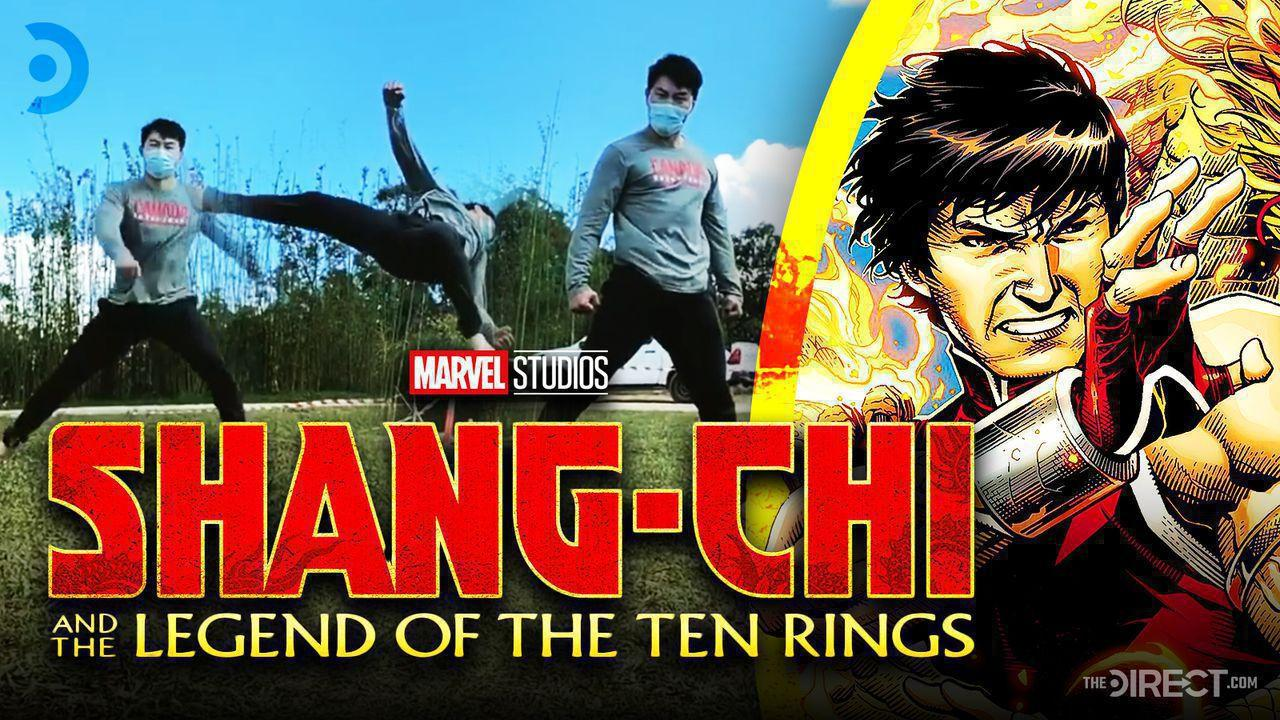 Shang-Chi and the Legend of the Ten Rings logo, Simu Liu
