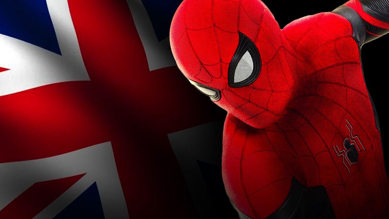 UK Flag, Spider-Man
