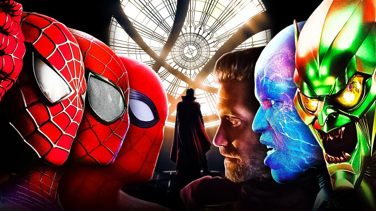3 Spider-Man, Mysterio, Electro, Green Goblin, Doctor Strange
