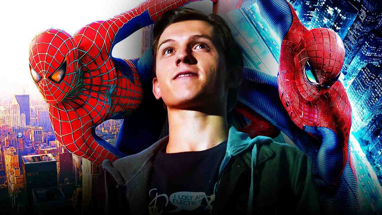 Spider-Man 3 Tobey, Andrew, and Tom