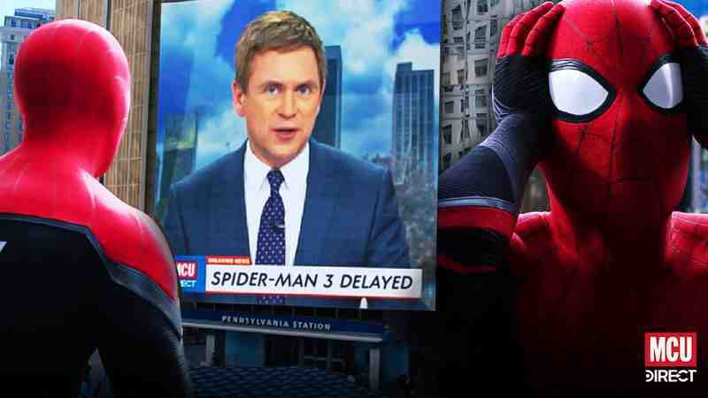 SPIDER-MAN 3 production has been delayed due to pandemic.