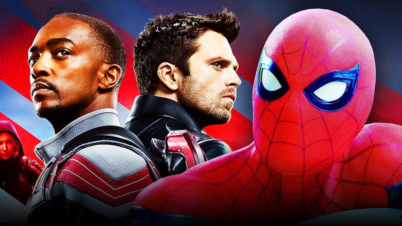 Sam Wilson, Bucky Barnes, Spider-Man