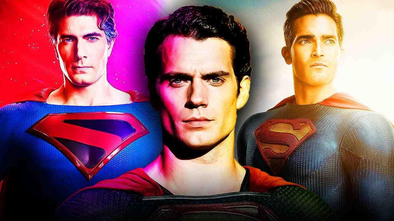 Henry Cavill as Superman, Brandon Routh as Superman, Tyler Hoechlin as Superman