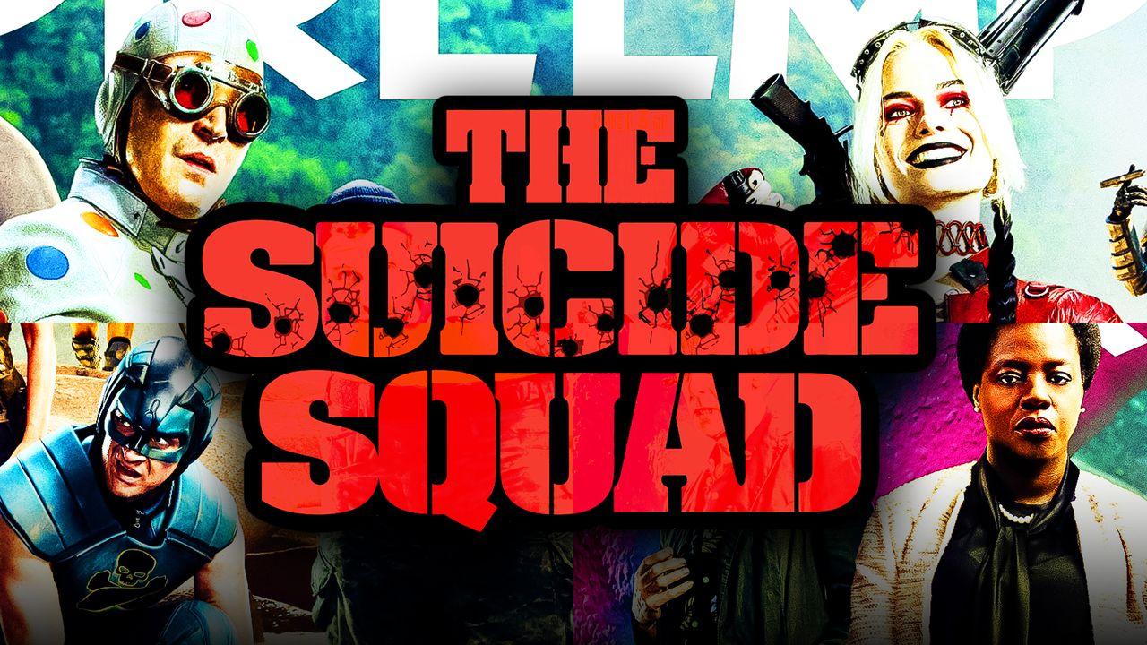 The Suicide Squad Empire Cover, The Suicide Squad Logo
