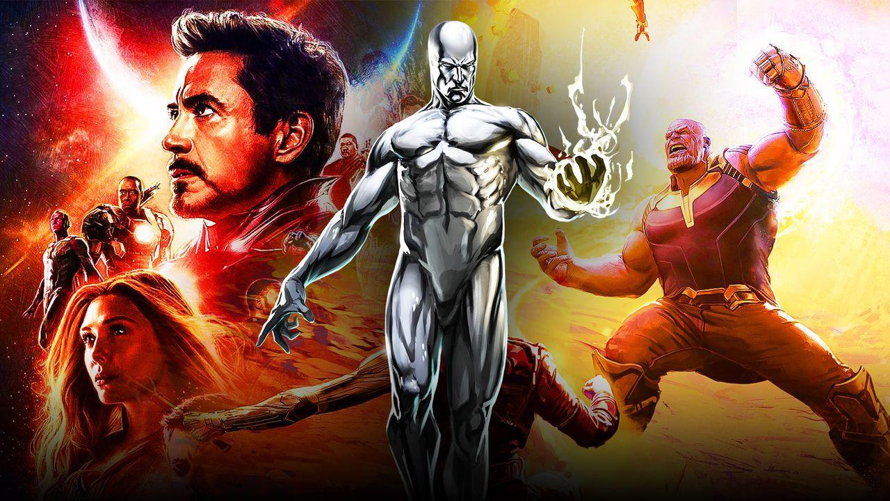 Silver Surfer Tony Stark Thanos