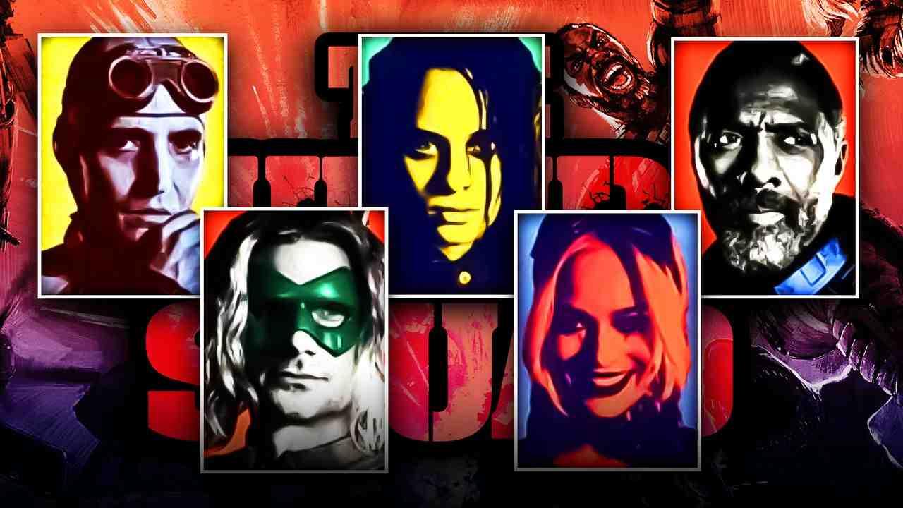 Polka Dot Man, Harley Quinn, Ratcatcher, Javelin, Bloodsport
