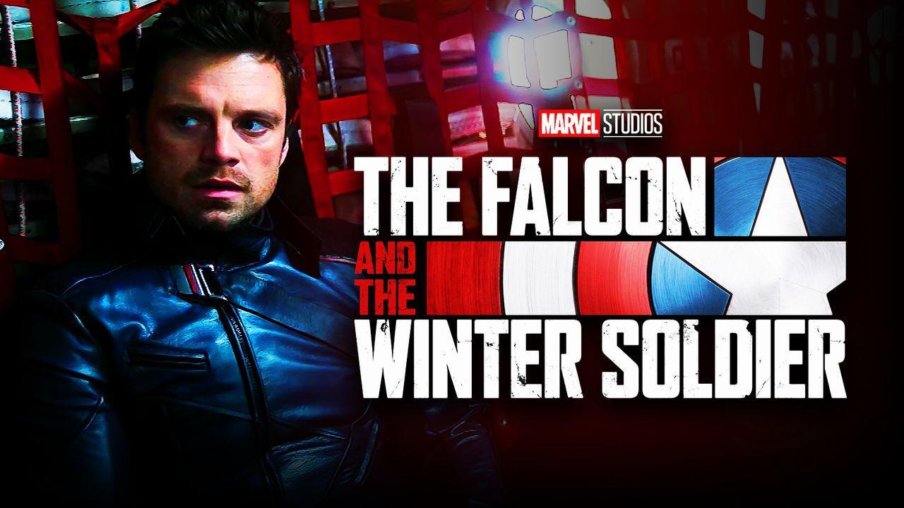 Sebastian Stan, The Falcon and the Winter Soldier logo