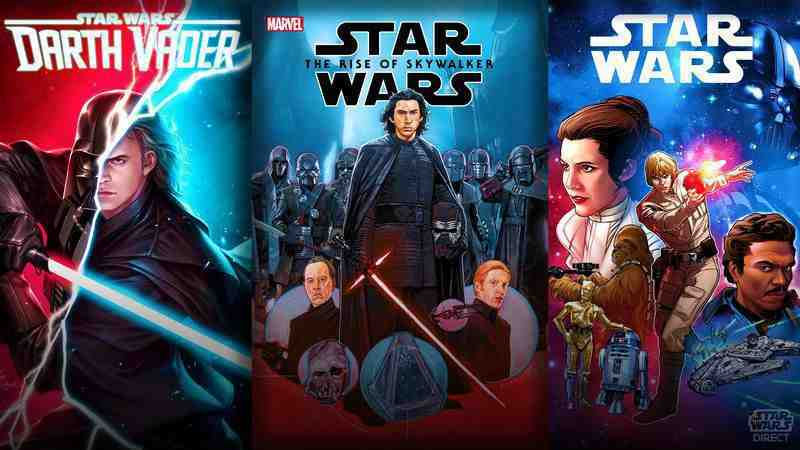 June 2020 Star Wars Comics banner